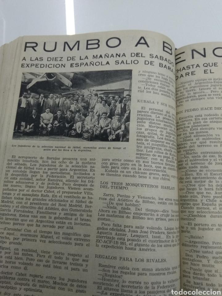 Coleccionismo deportivo: SEMANARIO DEPORTIVO POPULAR FUTBOL 1953 ENCUADERNADO N° 1 A 32p PORTADAS MUY RARO CICLISMO BOXEO ... - Foto 50 - 195128507
