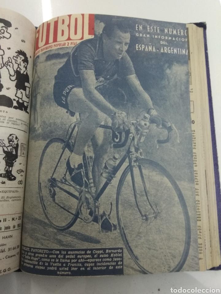 Coleccionismo deportivo: SEMANARIO DEPORTIVO POPULAR FUTBOL 1953 ENCUADERNADO N° 1 A 32p PORTADAS MUY RARO CICLISMO BOXEO ... - Foto 52 - 195128507