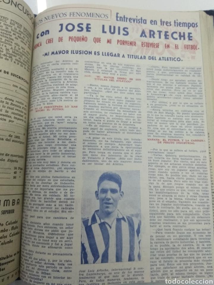 Coleccionismo deportivo: SEMANARIO DEPORTIVO POPULAR FUTBOL 1953 ENCUADERNADO N° 1 A 32p PORTADAS MUY RARO CICLISMO BOXEO ... - Foto 53 - 195128507