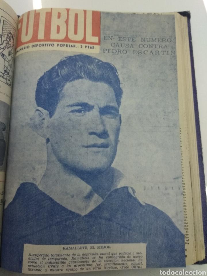 Coleccionismo deportivo: SEMANARIO DEPORTIVO POPULAR FUTBOL 1953 ENCUADERNADO N° 1 A 32p PORTADAS MUY RARO CICLISMO BOXEO ... - Foto 54 - 195128507