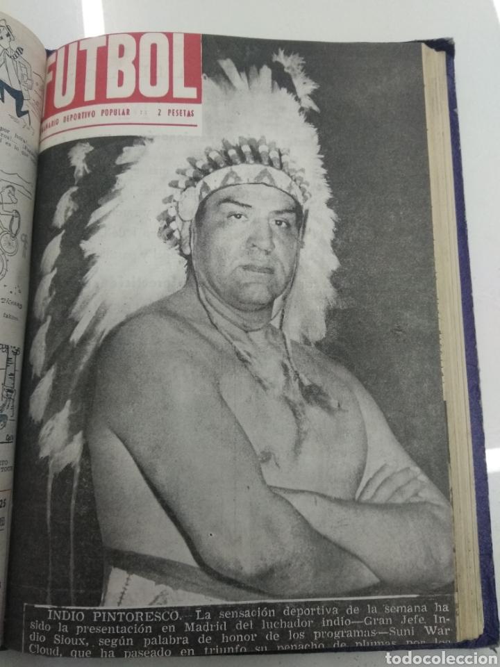 Coleccionismo deportivo: SEMANARIO DEPORTIVO POPULAR FUTBOL 1953 ENCUADERNADO N° 1 A 32p PORTADAS MUY RARO CICLISMO BOXEO ... - Foto 57 - 195128507
