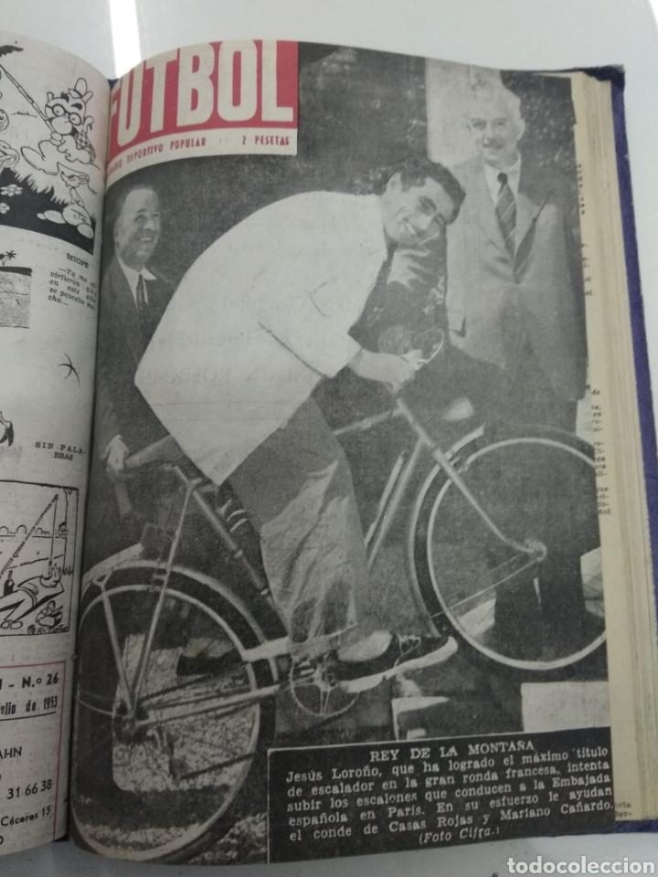 Coleccionismo deportivo: SEMANARIO DEPORTIVO POPULAR FUTBOL 1953 ENCUADERNADO N° 1 A 32p PORTADAS MUY RARO CICLISMO BOXEO ... - Foto 58 - 195128507