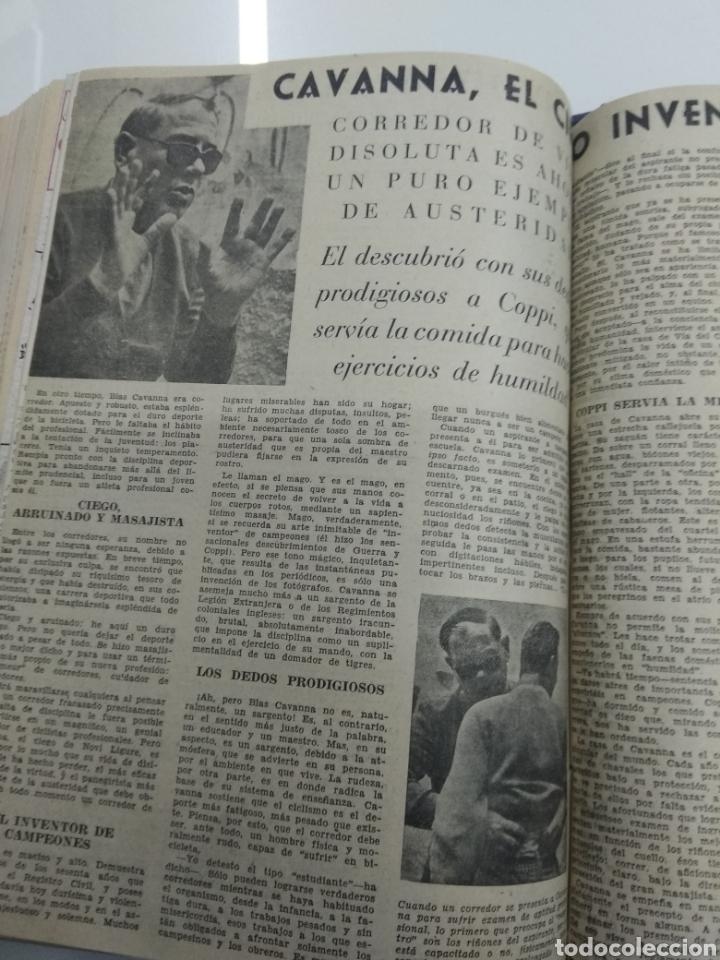Coleccionismo deportivo: SEMANARIO DEPORTIVO POPULAR FUTBOL 1953 ENCUADERNADO N° 1 A 32p PORTADAS MUY RARO CICLISMO BOXEO ... - Foto 59 - 195128507
