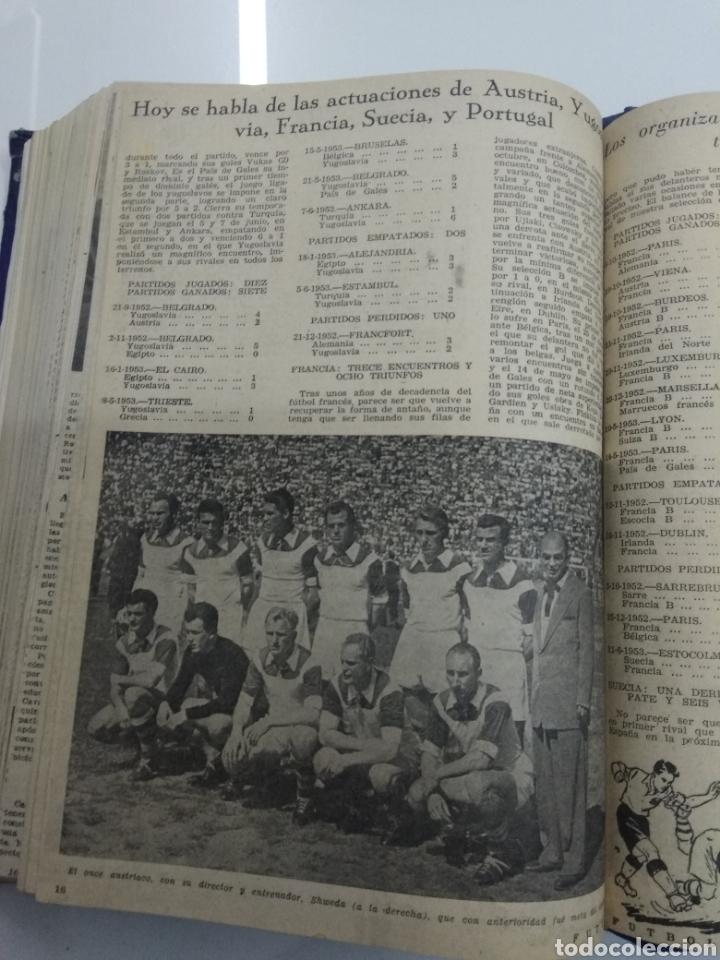 Coleccionismo deportivo: SEMANARIO DEPORTIVO POPULAR FUTBOL 1953 ENCUADERNADO N° 1 A 32p PORTADAS MUY RARO CICLISMO BOXEO ... - Foto 61 - 195128507