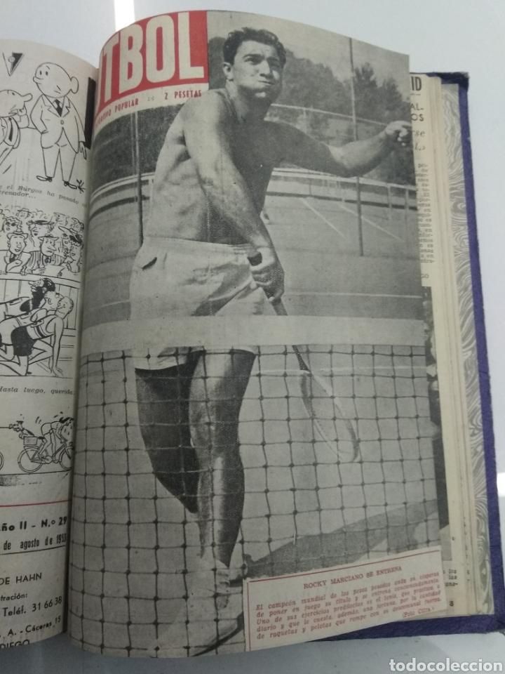 Coleccionismo deportivo: SEMANARIO DEPORTIVO POPULAR FUTBOL 1953 ENCUADERNADO N° 1 A 32p PORTADAS MUY RARO CICLISMO BOXEO ... - Foto 63 - 195128507