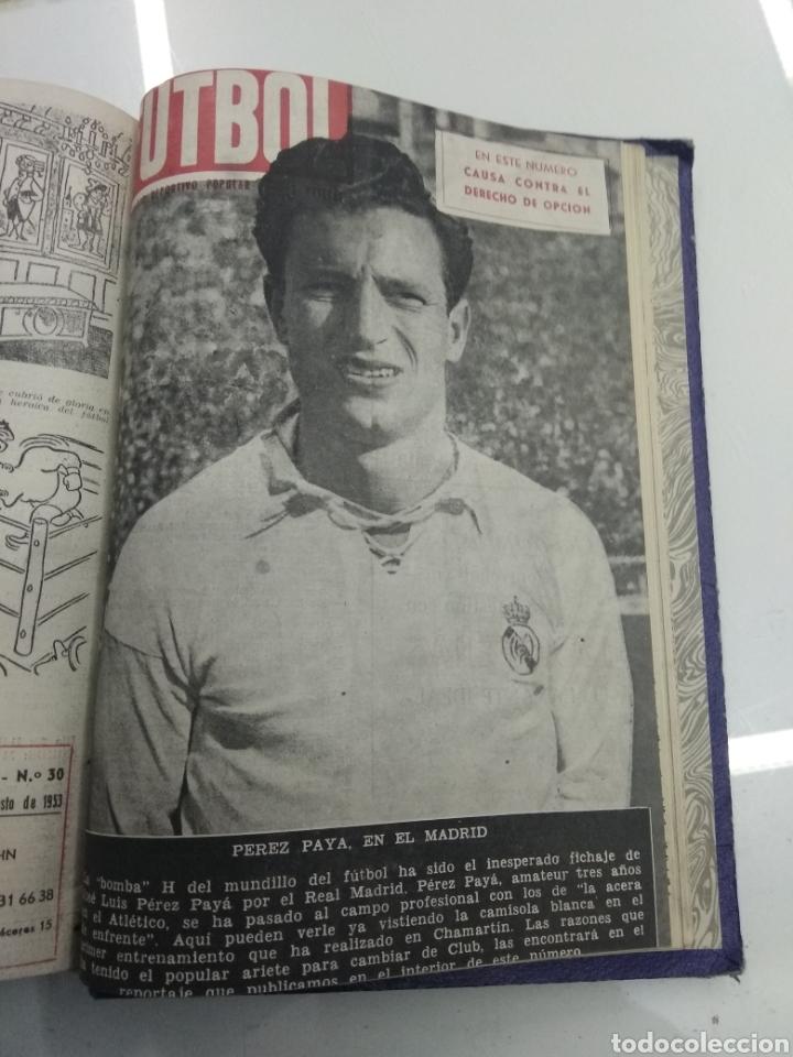 Coleccionismo deportivo: SEMANARIO DEPORTIVO POPULAR FUTBOL 1953 ENCUADERNADO N° 1 A 32p PORTADAS MUY RARO CICLISMO BOXEO ... - Foto 64 - 195128507