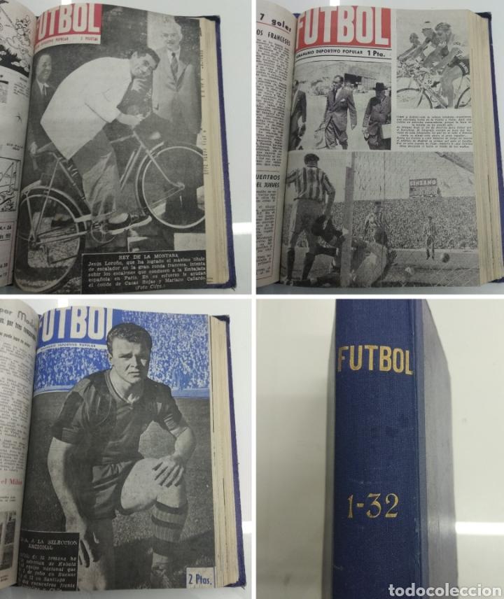 SEMANARIO DEPORTIVO POPULAR FUTBOL 1953 ENCUADERNADO N° 1 A 32P PORTADAS MUY RARO CICLISMO BOXEO ... (Coleccionismo Deportivo - Revistas y Periódicos - otros Deportes)