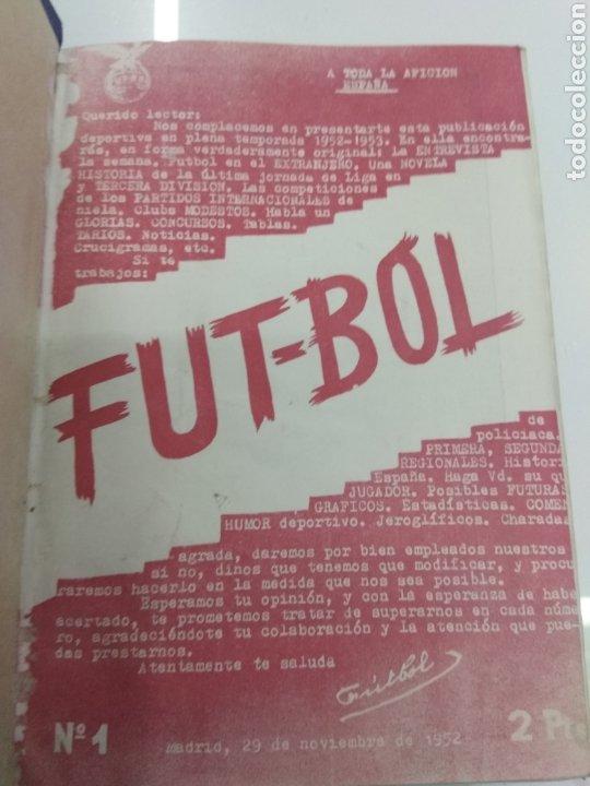 Coleccionismo deportivo: SEMANARIO DEPORTIVO POPULAR FUTBOL 1953 ENCUADERNADO N° 1 A 32p PORTADAS MUY RARO CICLISMO BOXEO ... - Foto 2 - 195128507