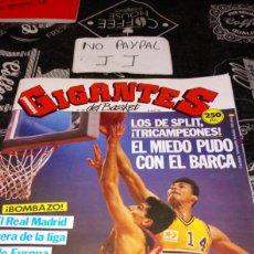 Coleccionismo deportivo: REVISTA GIGANTES DEL BASKET NÚMERO 286 AÑO 1991 VER FOTOS ESTADO ALGUNA ARRUGA LOMO. Lote 195152491