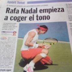 Coleccionismo deportivo: RAFAEL NADAL. Lote 195165976