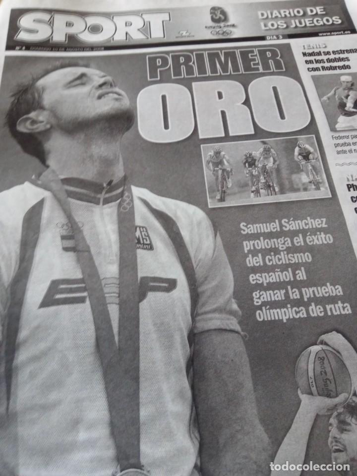 OLIMPIADAS BEIJING 2008 (Coleccionismo Deportivo - Revistas y Periódicos - otros Deportes)