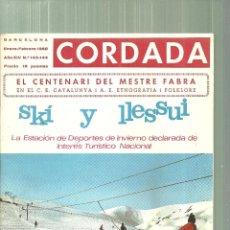 Coleccionismo deportivo: 3631.- CORDADA - SKI Y LLESSUI -LA ESTACION DE DEPORTES DE INVIERNO DECLARADA INTERES TURISTICO . Lote 195304210