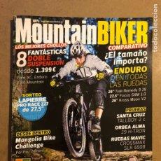 Coleccionismo deportivo: MOUNTAINBIKER N° 19 (2013). SANTA CRUZ TALLBOY 2 C, ORBEA ALMA 29 H-TRON, RUEDAS MAVIC. Lote 195343568