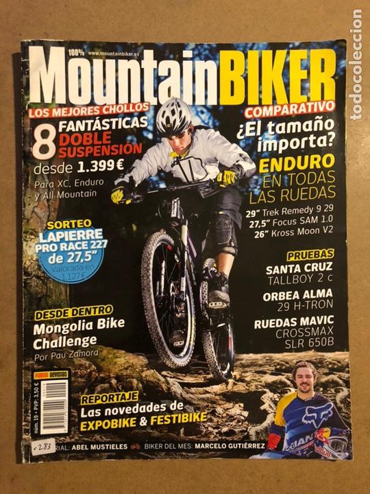 MOUNTAINBIKER N° 19 (2013). SANTA CRUZ TALLBOY 2 C, ORBEA ALMA 29 H-TRON, RUEDAS MAVIC (Coleccionismo Deportivo - Revistas y Periódicos - otros Deportes)