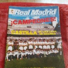 Coleccionismo deportivo: BOLETIN INFORMATIVO REAL MADRID. Lote 195366717
