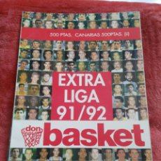 Coleccionismo deportivo: REVISTA ACB EXTRA LIGA 91/92 DON BASKET. Lote 195369710