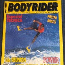 Coleccionismo deportivo: REVISTA DE SURF 'BODYRIDER', Nº 2. OCT-NOV 1997. NUEVA.. Lote 195545755