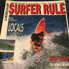Coleccionismo deportivo: REVISTA DE SURF 'SURFER RULE', Nº 35. ENERO - FEBRERO 1996. BUEN ESTADO.. Lote 195546322