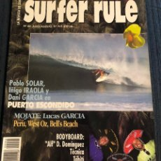 Coleccionismo deportivo: REVISTA DE SURF 'SURFER RULE', Nº 44. JULIO - AGOSTO 1997. NUEVA.. Lote 195547456