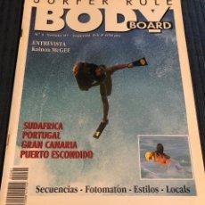 Coleccionismo deportivo: REVISTA DE SURF 'SURFER RULE'. ESPECIAL BODYBOARD Nº 1. VERANO 1997. NUEVA.. Lote 195548245