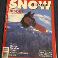 Coleccionismo deportivo: REVISTA 'SURFER RULE'. ESPECIAL SNOWBOARD Nº 4. INVIERNO 1997. NUEVA.. Lote 195548761