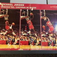 Coleccionismo deportivo: 3 POSTERS MICHAEL JORDAN. LEER Y VER FOTOS. Lote 196291845