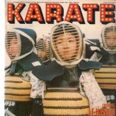 Collezionismo sportivo: KARATE. Nº 41. ENQUETE: LE KENDO. CONCOURS: GAGNEZ UNE MOTO. EDITIONS DE FRANCE. (B/57). Lote 196503730