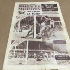 Coleccionismo deportivo: 14-7-1966 WORLD CUP 66: ARGENTINA - SPAIN / PORTUGAL - HUNGARY / FRANCE - MEXICO / ITALY - CHILE. Lote 197094730
