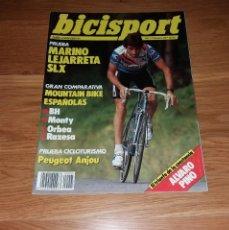 Coleccionismo deportivo: REVISTA CICLISMO. BICISPORT Nº5, 1989, MARINO LEJARRETA. Lote 197254621