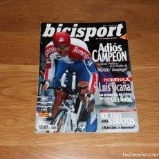 Coleccionismo deportivo: REVISTA CICLISMO. BICISPORT Nº62, JUNIO 1994, ADIÓS PERICO DELGADO. Lote 197254691