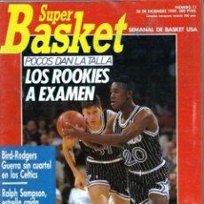 Coleccionismo deportivo: SUPER BASKET Nº 11 - DICIEMBRE 1989 - VER DESCRIPCION. Lote 197411663
