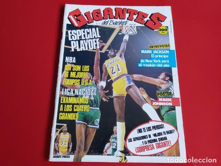 REVISTA BALONCESTO GIGANTES DEL BASKET Nº131 -POSTER MAGIC JOHNSON(LOS ANGELES LAKERS)-1988 --RB1 (Coleccionismo Deportivo - Revistas y Periódicos - otros Deportes)