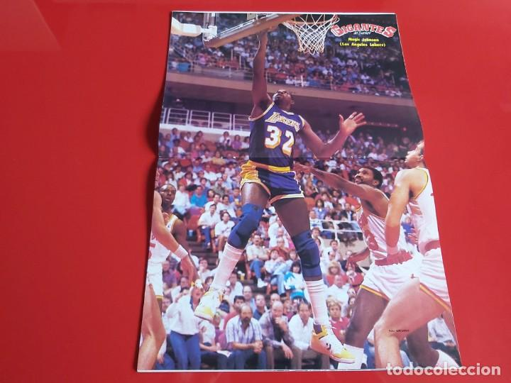 Coleccionismo deportivo: REVISTA BALONCESTO GIGANTES DEL BASKET Nº131 -POSTER MAGIC JOHNSON(LOS ANGELES LAKERS)-1988 --RB1 - Foto 2 - 198470911