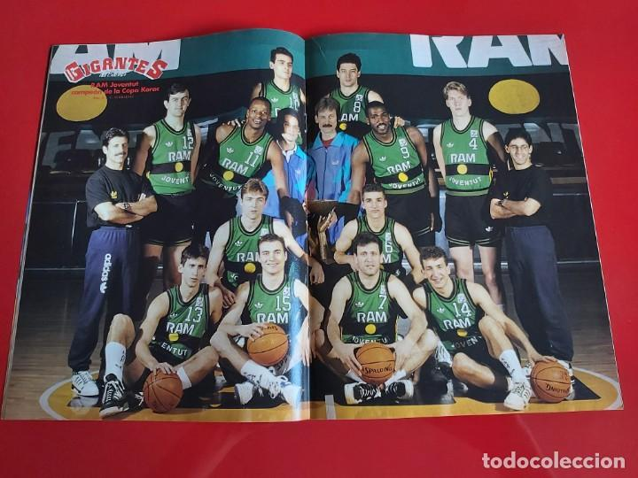 Coleccionismo deportivo: REVISTA BALONCESTO GIGANTES DEL BASKET Nº232 -POSTER RAM JOVENTUT CAMPEON DE LA KORAC-1990 --RB1 - Foto 2 - 198475125