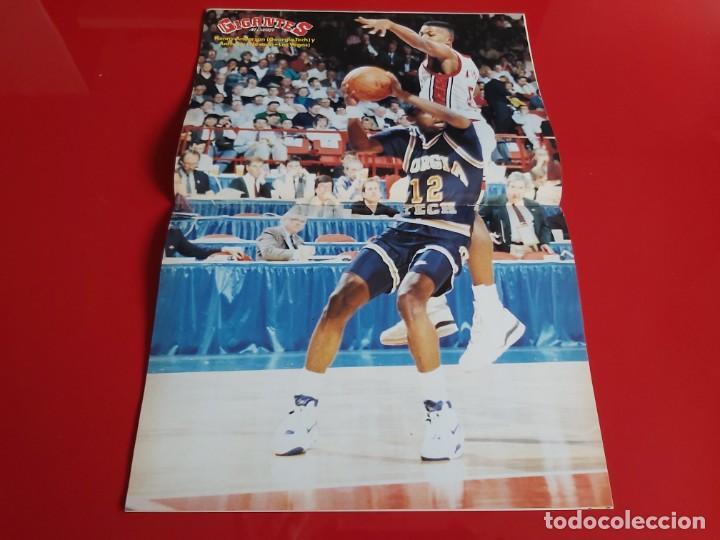Coleccionismo deportivo: REVISTA BALONCESTO GIGANTES DEL BASKET Nº233 -POSTER K.ANDERSON(GEORGIA) Y ANTHONY(NEVADA-1990 --RB1 - Foto 2 - 198478920