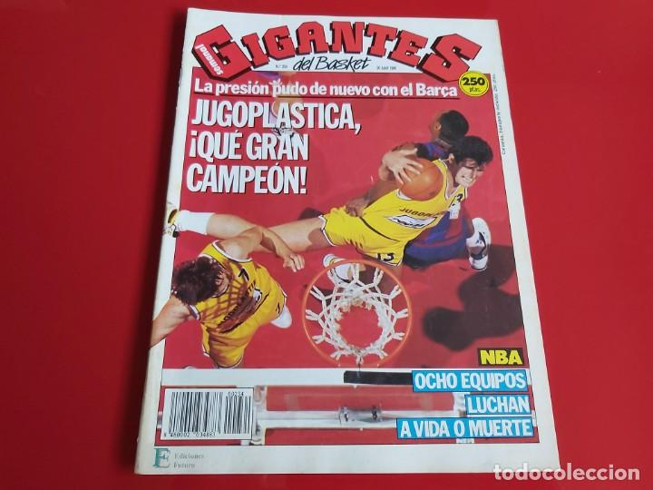 REVISTA BALONCESTO GIGANTES DEL BASKET Nº234 -NO SALIO POSTER-JUGOPLASTICA CAMPEON-1990--RB1 (Coleccionismo Deportivo - Revistas y Periódicos - otros Deportes)