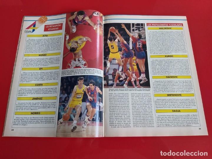 Coleccionismo deportivo: REVISTA BALONCESTO GIGANTES DEL BASKET Nº234 -NO SALIO POSTER-JUGOPLASTICA CAMPEON-1990--RB1 - Foto 2 - 198479402