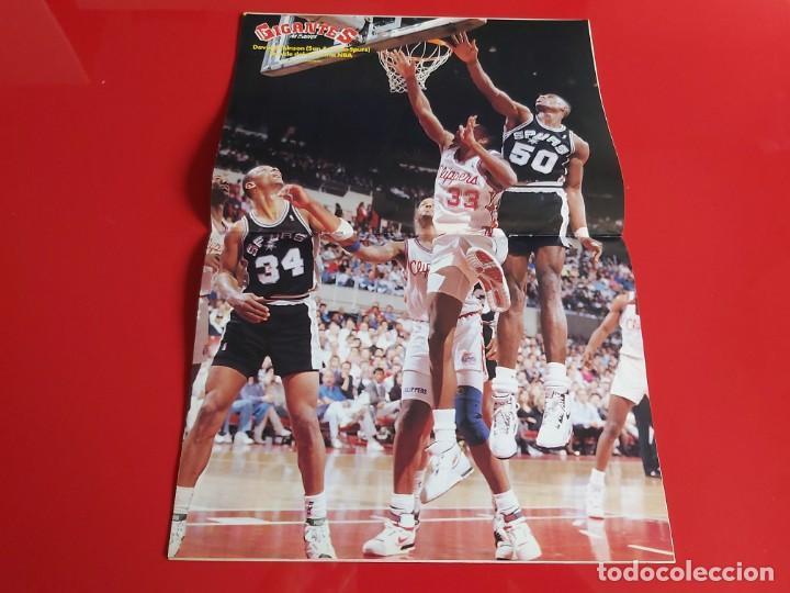 Coleccionismo deportivo: REVISTA BALONCESTO GIGANTES DEL BASKET Nº236 - POSTER DAVID ROBINSON(SAN ANTONIO SPURS)-1990--RB1 - Foto 2 - 198480702