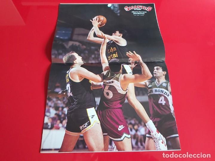 Coleccionismo deportivo: REVISTA BALONCESTO GIGANTES DEL BASKET Nº237 - POSTER ALBERTO HERREROS(ESTUDIANTES)-1990--RB1 - Foto 2 - 198481080