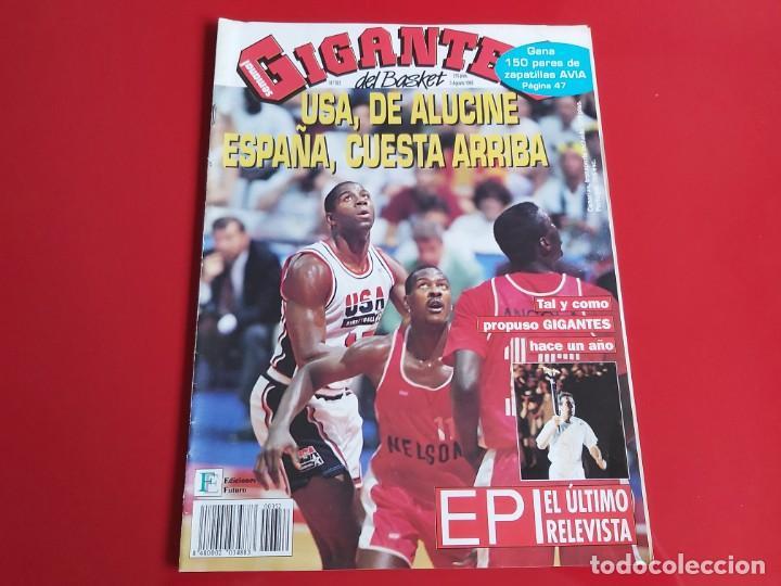 REVISTA BALONCESTO GIGANTES DEL BASKET Nº352 - POSTER AVIA MAS COLECCIONABLE Nº8 OLIMPICOS-1992--RB1 (Coleccionismo Deportivo - Revistas y Periódicos - otros Deportes)