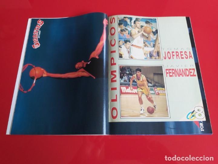 Coleccionismo deportivo: REVISTA BALONCESTO GIGANTES DEL BASKET Nº352 - POSTER AVIA MAS COLECCIONABLE Nº8 OLIMPICOS-1992--RB1 - Foto 2 - 198481573