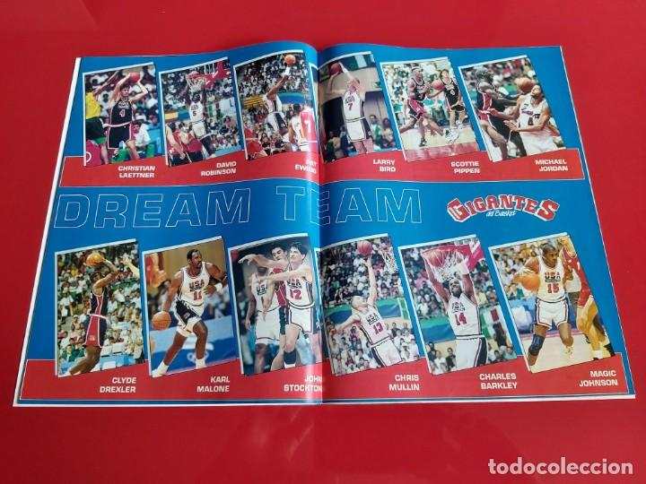 Coleccionismo deportivo: REVISTA BALONCESTO GIGANTES DEL BASKET Nº355 - POSTER DREAM TEAM BARCELONA 92--1992--RB1 - Foto 2 - 198483736