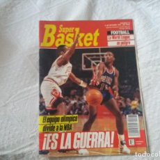 Coleccionismo deportivo: SUPER BASKET. N° 97. 1991. MICHAEL JORDAN. ISIAH THOMAS. EL EQUIPO OLÍMPICO DIVIDE LA NBA.. Lote 198562826