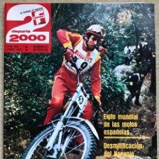 Coleccionismo deportivo: REVISTA DEPORTE 2000 - N° 87 (ABRIL 1976) - ALPINISMO EL NARANJO DE BULNES - ATLETISMO CARMEN VALERO. Lote 198577645