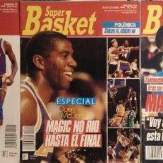 Coleccionismo deportivo: ''MAGIC'' JOHNSON CONTRAE EL VIH - OPEN MCDONALDS - REVISTAS ''SUPERBASKET'' (1991) - JOVENTUT - NBA. Lote 51776487