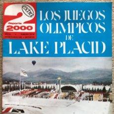 Coleccionismo deportivo: REVISTA DEPORTE 2000 EXTRA - N° 115 - 116 (ENERO / FEB. 1980) - JUEGOS OLÍMPICOS DE LAKE PLACID. Lote 198792356