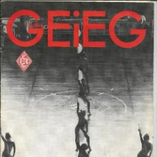 Coleccionismo deportivo: BUTLLETÍ INFORMATIU *GEIEG* Nº 416 - MAIG-JUNY 1989. Lote 199254546