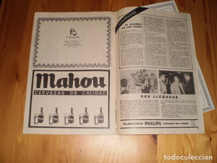 Coleccionismo deportivo: revista real madrid mayo 1974 nº 288 la quinta copa de europa de baloncesto - Foto 4 - 199460136