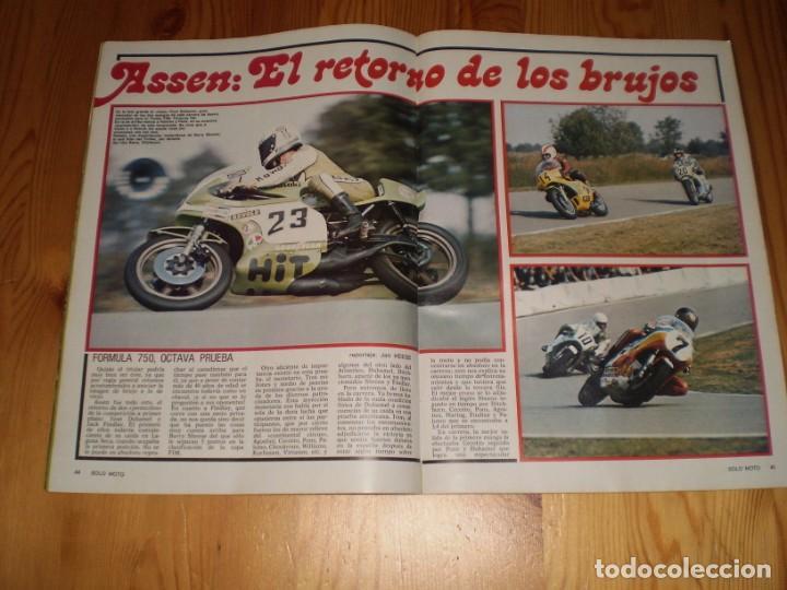 Coleccionismo deportivo: revista solo moto septiembre 1975 año1 nº 15 - Foto 2 - 199460923