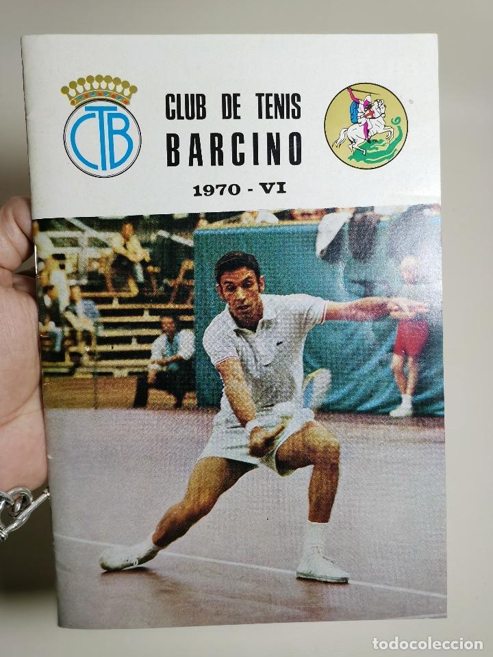 BOLETIN REVISTA CLUB TENIS BARCINO 1970-VI (Coleccionismo Deportivo - Revistas y Periódicos - otros Deportes)